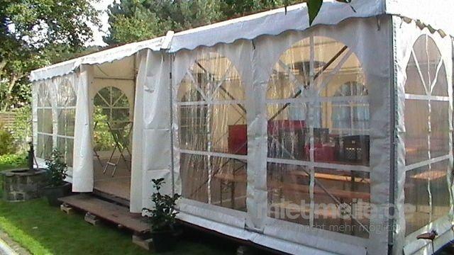 Partyzelte mieten & vermieten - Zelt mit Boden 6 x 3 m in Solingen