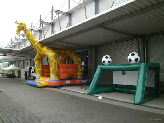 Großspielgeräte mieten & vermieten - Softballanlage mieten in Frankfurt, Mainz, Wiesbaden, Darmstadt in Ginsheim-Gustavsburg