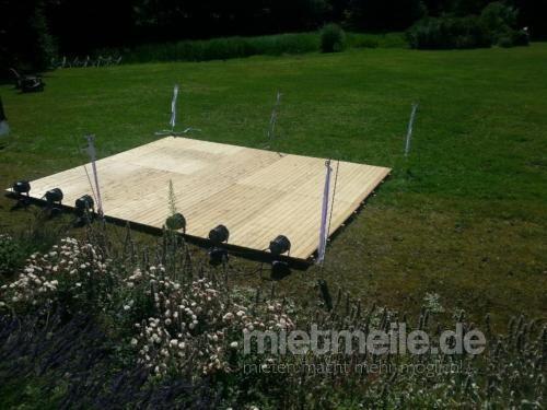 Bühne mieten & vermieten - Bühne 6x4m Podesterie inkl. Treppe APQ Stage / Bütec, Showbühne, Eventbühne, Podeste in Wismar