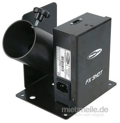 Spezialeffekte mieten & vermieten - Konfettikanone Konfetti Kanone Shooter FX Shot in Wismar