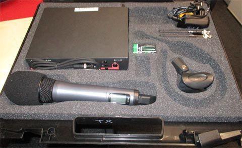Mikrofon mieten & vermieten - Professionelles Komplettset Funkmikro UHF EW 300 mit Handmikrofon + Sender in Reinstädt