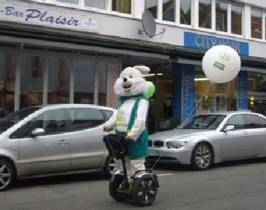 Segway mieten & vermieten - SEGWAY fahren & SEGWAY Parcours verleih, mieten in Göppingen