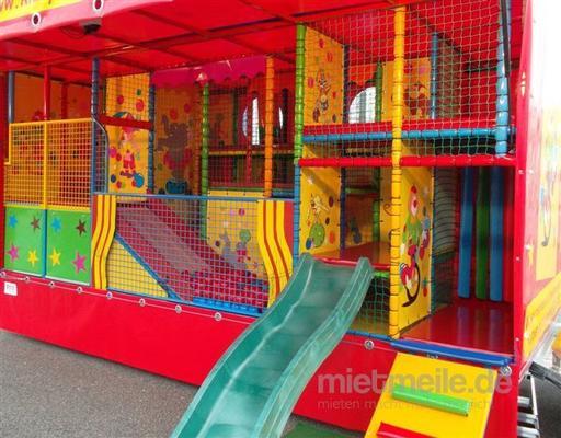 Spielmobil mieten & vermieten - Circus Abenteuer Spielmobil mit Bungee-Trampolin in Ockenheim