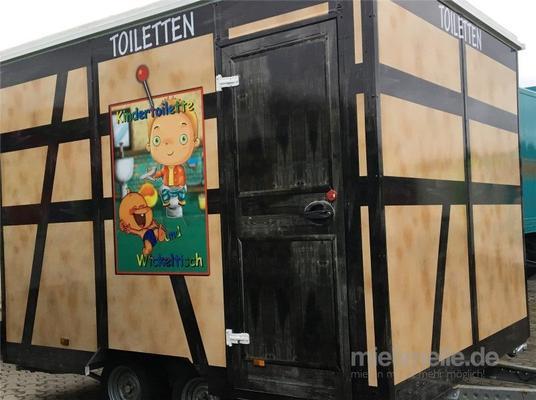 Toilettenwagen mieten & vermieten - Toilettenwagen mieten:Behinderten WC -Raum & Kinder WC - Raum in Dinslaken