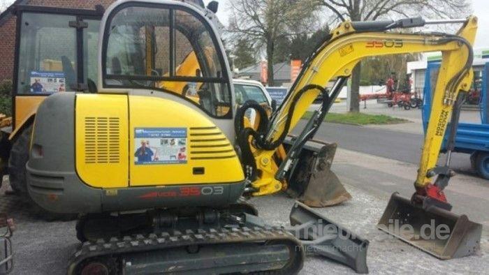Minibagger mieten & vermieten - Minibagger Wacker Neusen 3503 Mieten in Nettetal