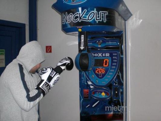 Spielgeräte mieten & vermieten - Boxautomat / Punching Ball / Punch Action / Schlagkraftmesser / Kirmes Automat in Dortmund
