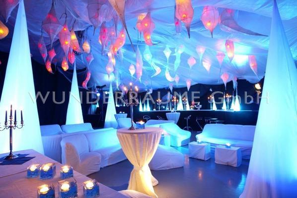 Kulissen mieten & vermieten - Blue Lounge - WUNDERRÄUME GmbH vermietet: Dekoration/Kulisse für Event, Messe, Veranstaltung, Incentive, Mitarbeiterfest, Firmenjubiläum in Lichtenstein/Sachsen