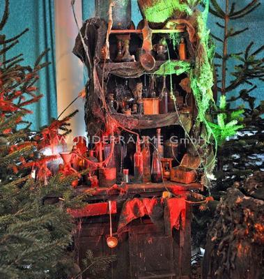 Kulissen mieten & vermieten - Hexenküche - WUNDERRÄUME GmbH vermietet: Dekoration/Kulisse für Event, Messe, Veranstaltung, Incentive, Mitarbeiterfest, Firmenjubiläum in Lichtenstein/Sachsen