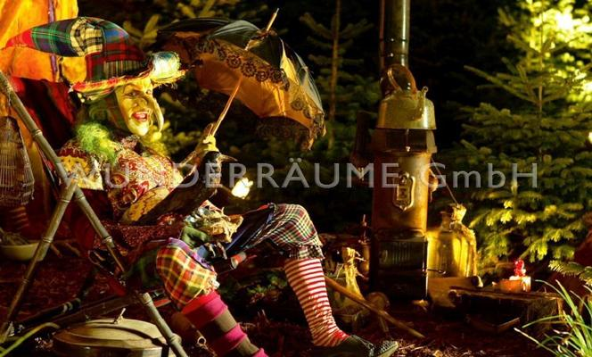 Kulissen mieten & vermieten - Hexenhaus -  WUNDERRÄUME GmbH vermietet: Dekoration/Kulisse für Event, Messe, Veranstaltung, Incentive, Mitarbeiterfest, Firmenjubiläum in Lichtenstein/Sachsen