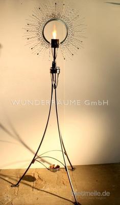 Leuchten & Lampen mieten & vermieten - Sonnenfackel - WUNDERRÄUME GmbH vermietet: Dekoration/Kulisse für Event, Messe, Veranstaltung, Incentive, Mitarbeiterfest, Firmenjubiläum in Lichtenstein/Sachsen