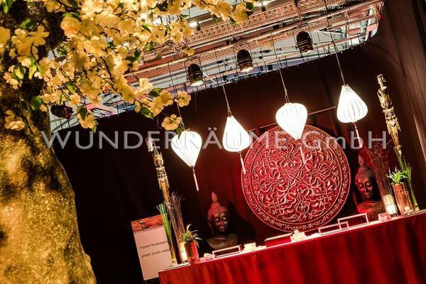 Kulissen mieten & vermieten - Asien Lounge 1 - WUNDERRÄUME GmbH vermietet: Dekoration/Kulisse für Event, Messe, Veranstaltung, Incentive, Mitarbeiterfest, Firmenjubiläum in Lichtenstein/Sachsen