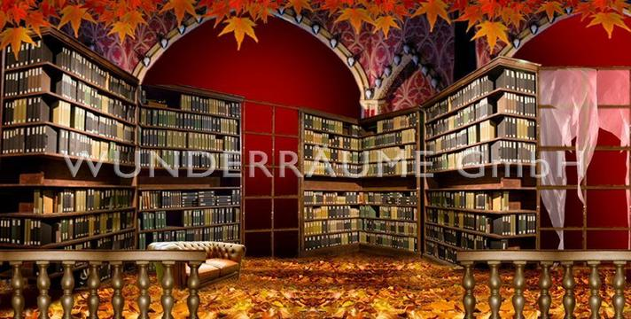 Kulissen mieten & vermieten - Große Bibliothek - WUNDERRÄUME GmbH vermietet: Dekoration/Kulisse für Event, Messe, Veranstaltung, Incentive, Mitarbeiterfest, Firmenjubiläum in Lichtenstein/Sachsen