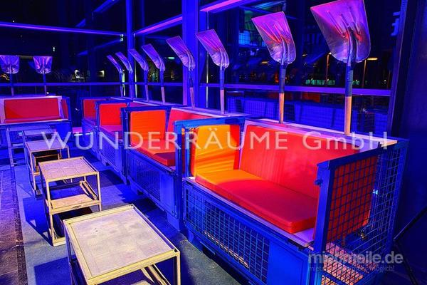 """Antik & Rustikal mieten & vermieten - Sofa """"Industrial"""" - WUNDERRÄUME GmbH vermietet: Dekoration/Kulisse für Event, Messe, Veranstaltung, Incentive, Mitarbeiterfest, Firmenjubiläum in Lichtenstein/Sachsen"""