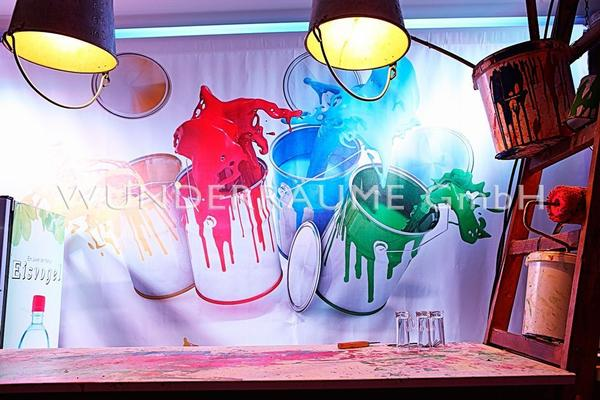 """Kulissen mieten & vermieten - Leinwanddruck """"Farben"""" - WUNDERRÄUME GmbH vermietet: Dekoration/Kulisse für Event, Messe, Veranstaltung, Incentive, Mitarbeiterfest, Firmenjubiläum in Lichtenstein/Sachsen"""