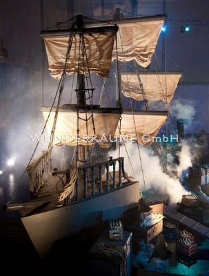 Antik & Rustikal mieten & vermieten - Schiff XXL - WUNDERRÄUME GmbH vermietet: Dekoration/Kulisse für Event, Messe, Veranstaltung, Incentive, Mitarbeiterfest, Firmenjubiläum in Lichtenstein/Sachsen