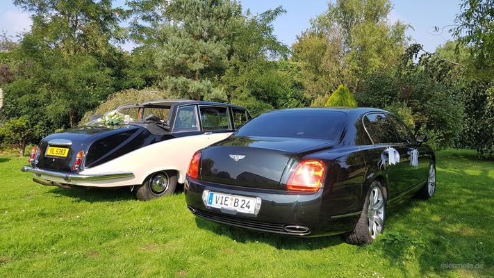 Hochzeitsauto mieten & vermieten - Bentley Flying Spur mit Chauffeur in Mönchengladbach