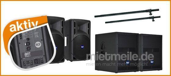 Musikanlage mieten & vermieten - Partyanlage / Tonanlage / Musikanlage für bis zu 200 Personen in Waltrop