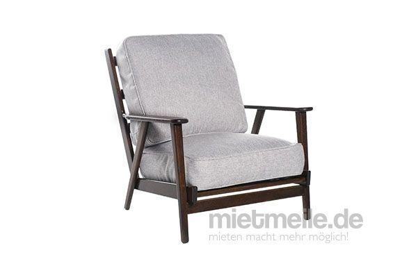 Sessel Soho Webstoff Grau mieten - 80,00 EUR pro drei Tage ...