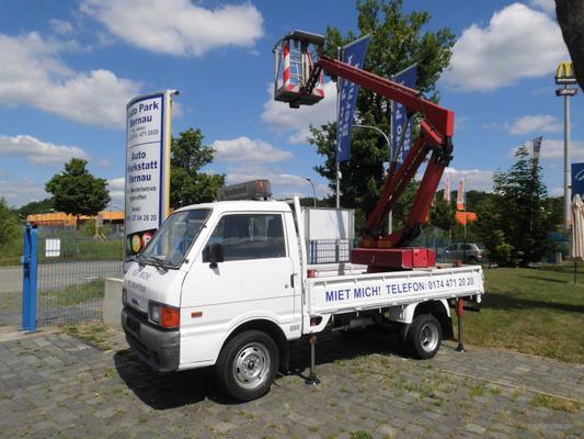 Teleskopbühnen mieten & vermieten - PKW Hubsteiger, Hebebühne, Arbeitsmaschine in Bernau
