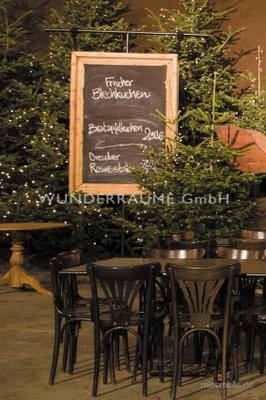 Antik & Rustikal mieten & vermieten - Schautafel mit Zierrahmen rustikal Holz - WUNDERRÄUME GmbH vermietet: Dekoration/Kulisse für Event, Messe, Veranstaltung, Incentive, Mitarbeiterfest, Firmenjubiläum in Lichtenstein/Sachsen