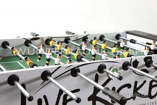 Fußball mieten & vermieten - Tischfußball-Kicker - WUNDERRÄUME GmbH vermietet: Dekoration/Kulisse für Event, Messe, Veranstaltung, Incentive, Mitarbeiterfest, Firmenjubiläum in Lichtenstein/Sachsen