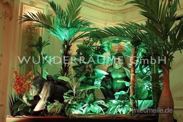 Dekofiguren mieten & vermieten - Dschungeltiere - WUNDERRÄUME GmbH vermietet: Dekoration/Kulisse für Event, Messe, Veranstaltung, Incentive, Mitarbeiterfest, Firmenjubiläum in Lichtenstein/Sachsen