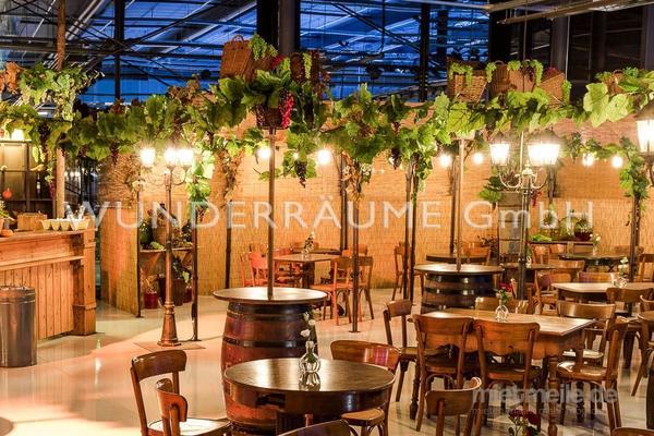 Saisonale Dekoration mieten & vermieten - Weinpavillon - WUNDERRÄUME GmbH vermietet: Dekoration/Kulisse für Event, Messe, Veranstaltung, Incentive, Mitarbeiterfest, Firmenjubiläum in Lichtenstein/Sachsen