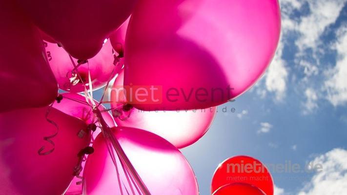 Ballons mieten & vermieten - Helium Ballons mit Logo möglich in München