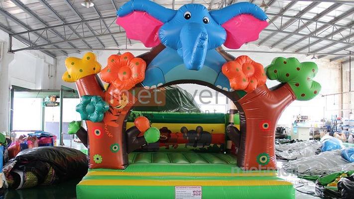 Hüpfburg mieten & vermieten - Elefant Hüpfburg mieten in München