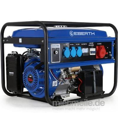 Stromgenerator mieten & vermieten - Stromgenerator - Stromerzeuger 4.1KW 16A CEE - Stromaggregat in Wismar