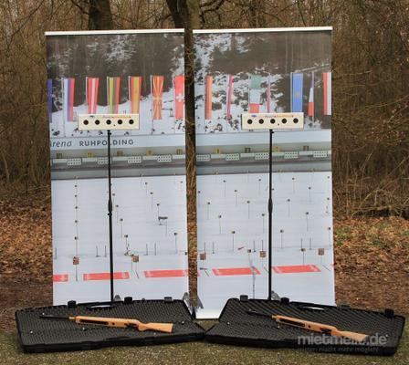 Biathlon mieten & vermieten - Biathlon schießen ~ Laser schießen ~ mit 5-fach Empfänger in Rheinmünster