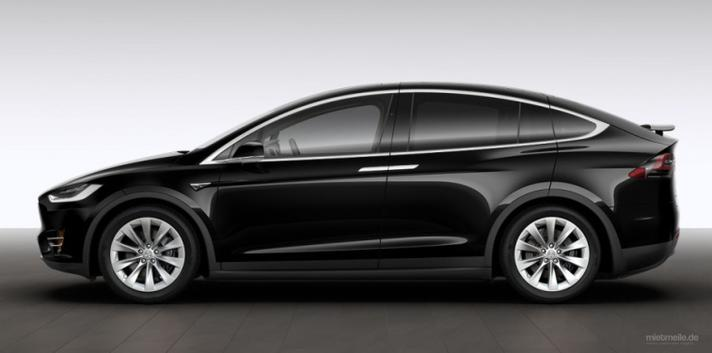 Elektroauto mieten & vermieten - Tesla Model X 100D in Velbert
