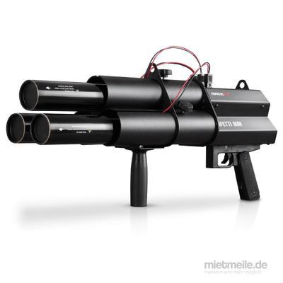 Spezialeffekte mieten & vermieten - Konfettikanone - Gun - Konfettishooter - Confettigun - Konfettigun in Wismar