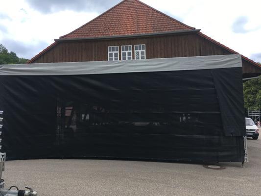 Bühne mieten & vermieten - Open Air Bühnendach mit Boden 4 Größen! in Niederstetten