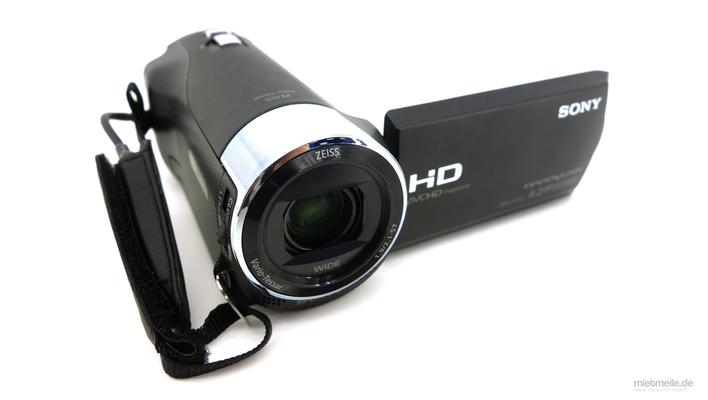 Videokamera mieten & vermieten - Camcorder Video-Kamera Sony HDR-CX240E in Schkeuditz