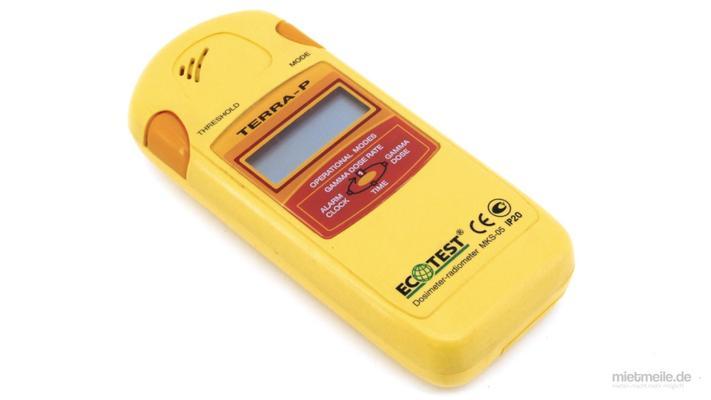 Elektronikzubehör mieten & vermieten - Geigerzähler Dosimeter Strahlen-Messgerät digital in Schkeuditz