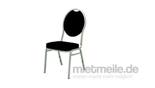 Stühle mieten & vermieten - Bankettpolsterstuhl schwarz Stuhl Oldschool  in Bergheim