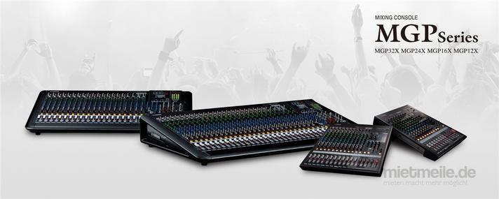 Tontechnik mieten & vermieten - Yamaha MGP 32 Live - Mischpult 24+8 Kanal analog in Bonn