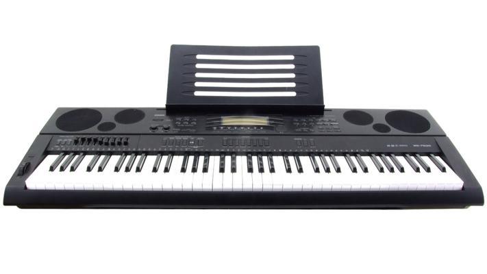 Tasteninstrument mieten & vermieten - Casio WK-7500 Workstation-Keyboard Set in Schkeuditz