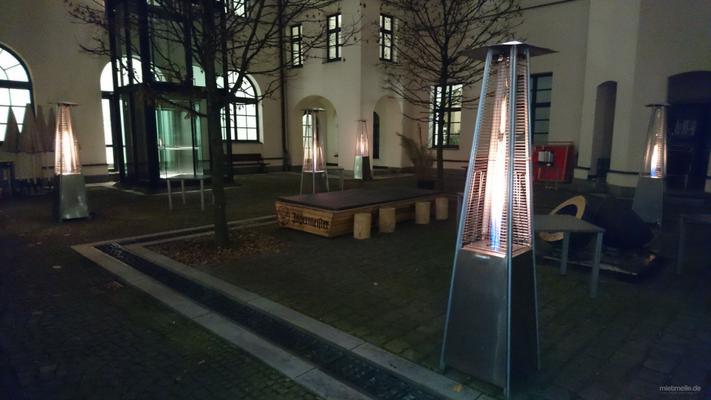 Heizstrahler & Heizpilz mieten & vermieten - Heizpyramide / Wärmestrahler / Heizstrahler / Heizpilz / Heizung in Neunkirchen am Sand