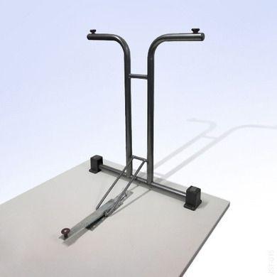 Tische mieten & vermieten - Banketttisch / Konferenztisch rechteckig 120x60cm in Neunkirchen am Sand