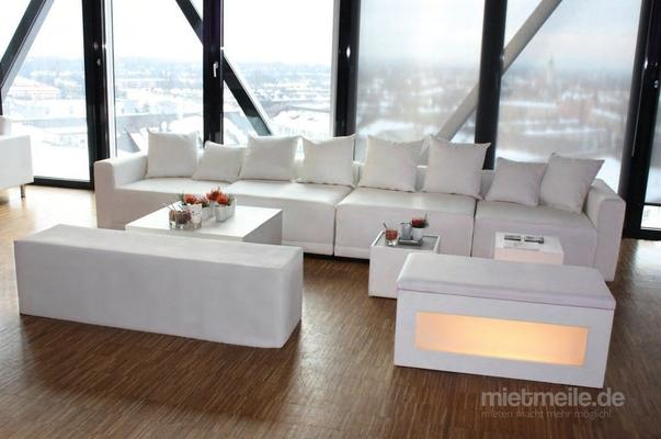 Lounge Sitzbank Sitzhocker Sitzwürfel Sitz Cube Schwarzweiß Mieten 3850 Eur Pro Drei Tage Mietmeilede