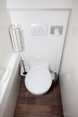 Toilettenwagen mieten & vermieten - Toilettenwagen 7&2 silber in Dorsten