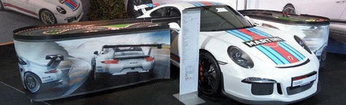 Carrerabahn mieten & vermieten - Carrerabahn Porsche GT3 Rennbahn, Rennauto mieten, leihen, Vermietung, Verleih in Göppingen
