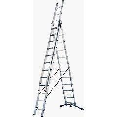 Leiter mieten & vermieten - Kombileiter - Leiter - Treppenleiter Arbeitshoehe 9, 05 m - Anlegeleiter 1 - 2 - 3 teilig - Doppelsprossenleiter  in Elsdorf (Rheinland)
