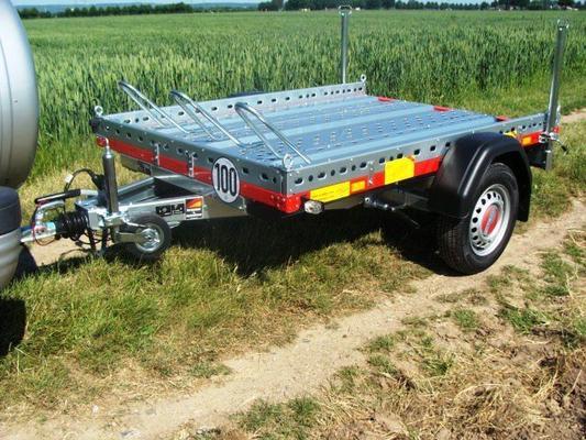 Motorradanhänger mieten & vermieten - 1 - 2er Motorrad - Transporter 850 kg gebremst / mit Stossdaempfer 100 km/h - Nutzflaeche ca. L x B mm 2200 x 1500 in Elsdorf (Rheinland)