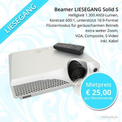 Beamer mieten & vermieten - BEAMER Projektor Liesegang Solid S für Hochzeit, Event, Präsentation, Tagung in Berlin