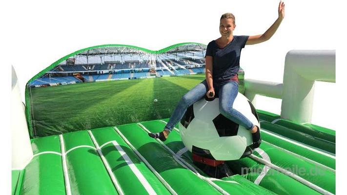 Bullriding mieten & vermieten - Fußball Rodeo mieten / Rodeofußball Verleih / Simulator Fußball Riding in Aachen