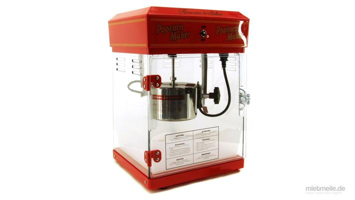 Popcornmaschine mieten & vermieten - Profi Popcorn-Maschine Popcorn Automat in Schkeuditz