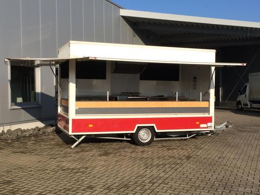 Verkaufsstand mieten & vermieten - Verkaufsanhänger mit Imbissausstattung in Freudenberg